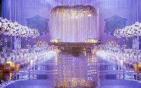 大气淡紫的氛围为你带来完美婚礼