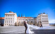 【布拉格广场】七彩玫瑰欧洲旅拍 天文钟天鹅湖教堂