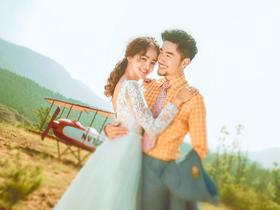 【韩式唯美婚纱照】麦田摄影婚纱照直降3000