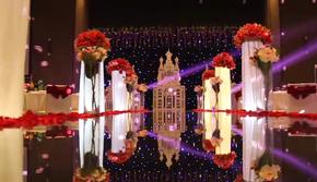 【唯喏婚礼】10米镜面+星空城堡