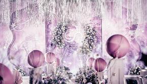 【花小姐】粉色少女心梦幻浪漫星空创意送婚纱礼服