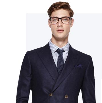 100%纯羊毛   100s 定制西服套装