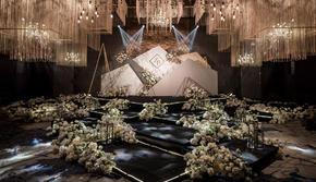『千忆』 黑白色大理石西式婚礼