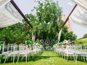 【Wendy婚礼】户外自然清新白绿婚礼
