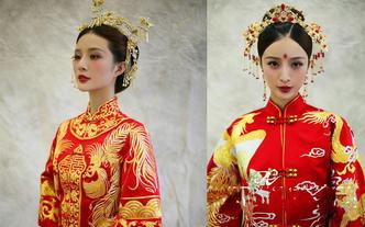 简雅美学社@中式婚礼古装造型+免费高定饰品