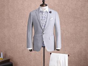 【男士结婚礼服】男士西服超值三件套