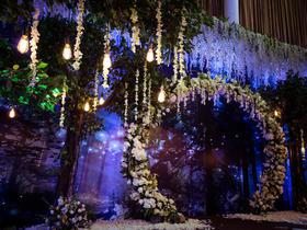 森系婚礼——森林中的爱情,精灵般的你