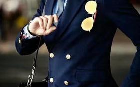双排钮西服  男人衣柜里的秘密武器