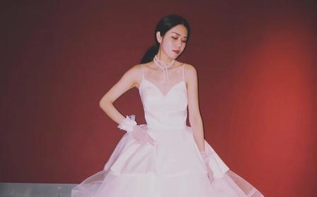 【野生雏菊】高级定制2017最潮新娘出门纱外景纱