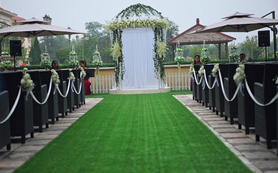 经典户外婚礼