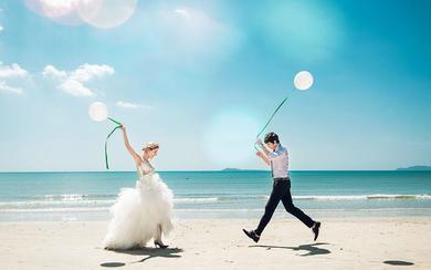 5克拉婚纱摄影·媚丽阳光