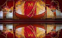 【丽芙婚礼】#七周年特惠#红金HM复古