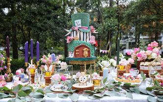 CakeItUp-爱丽丝主题甜品台