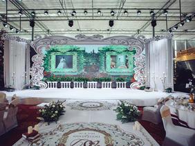 天成园生态酒店小清新婚礼布置