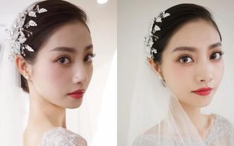 资深化妆师新娘单妆 早妆或晚妆