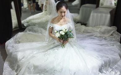 【怦然心动】气质新娘试纱照