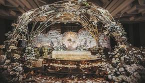 【超值轻奢】梦幻浪漫粉白色花园婚礼策划