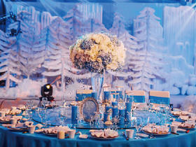 冰雪主题婚礼
