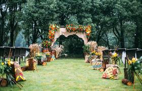 樱色花嫁婚礼制造--清馨·绿荫
