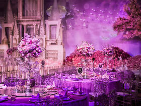 【唯美紫色婚礼系】高贵典雅,浪漫唯美,紫爱你