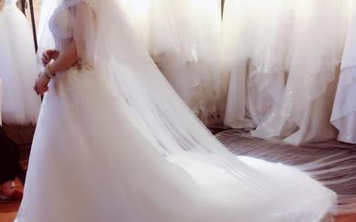 【米亞】4月新款婚纱店面试纱实拍参考案例