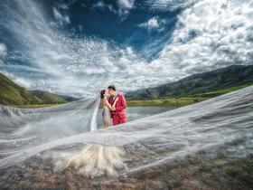 【蓝朵摄影】定制唯美婚纱旅拍 康定情歌木格措
