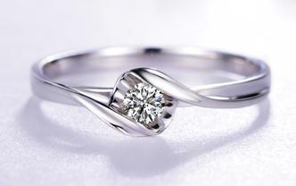 19分Fresh系列-信仰 铂Pt950钻石戒指
