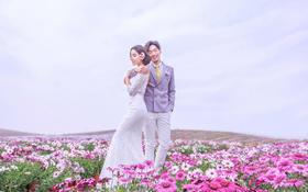 【大视觉】花海乐园 恋爱季主题婚纱照