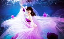 水下摄影-双人婚纱照系列
