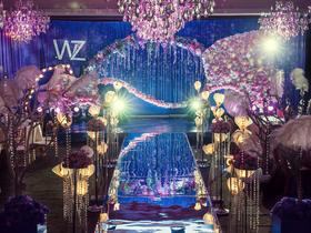 唯美梦幻婚礼《紫色光旅》