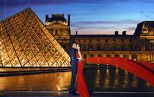 【周杰伦告白气球】七彩玫瑰法国巴黎旅拍 塞纳河畔