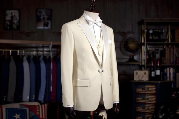 白色面料 新款首发独一无二白色礼服