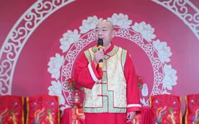 中式婚礼主持人关歌,西安中式婚庆司仪光头主持关歌