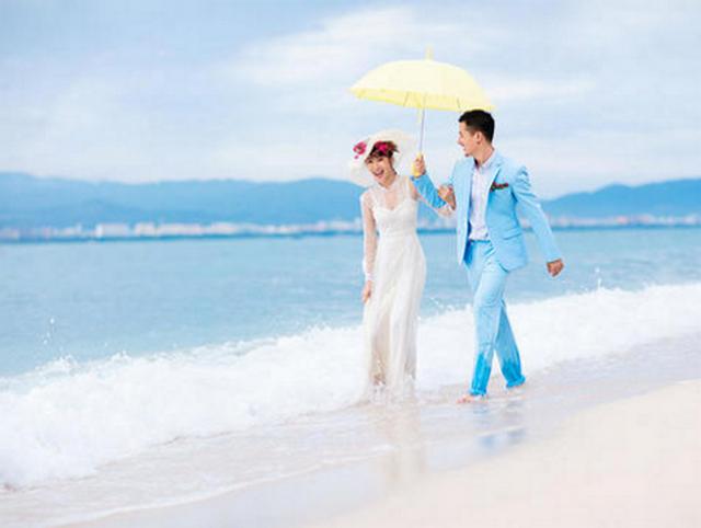 三亚贝拉婚纱摄影   唯美水下纯拍套系