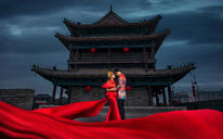 缪斯影像--郑州复古宫殿婚纱照