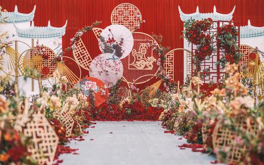 【sunny喜铺】日坛宾馆中式户外婚礼