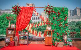 【婚礼印象】 红花配绿叶
