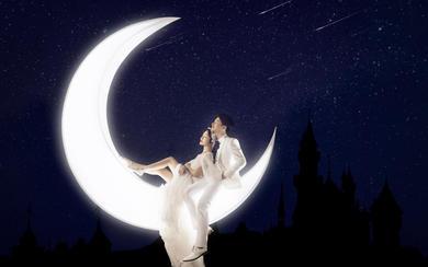 【客片】月莹心动◆金夫人个性创意童话浪漫婚纱照
