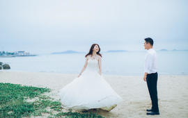 克洛伊全球旅拍【厦门店】客片鉴赏:马媛媛&刘毅飞