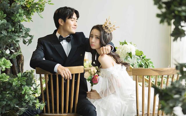 春盛◆金夫人新弥花清新精致情感纪实韩式简约婚纱照