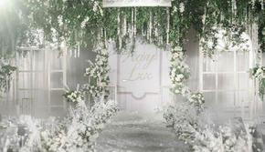 白绿色系婚礼26999套系