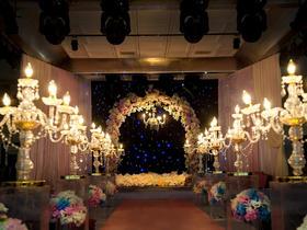 【OK Design紫色星空】绢花室内主题婚礼