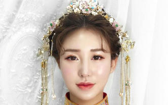 全海南婚庆服务专业资深化妆师婚礼跟妆送主伴娘妆