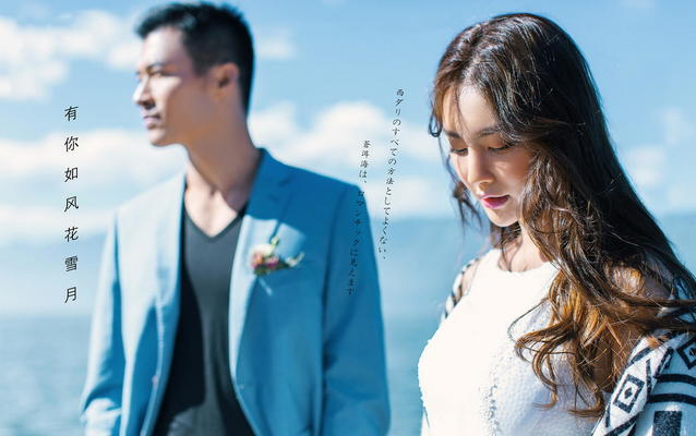 铂爵风尚婚纱摄影青岛旅拍-海景主题