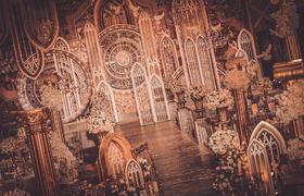 【摩卡婚礼】复古|玫瑰与花窗