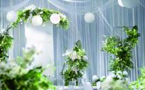夏日阳光[纯粹的白色小清新婚礼,纪念你们之间纯净的爱