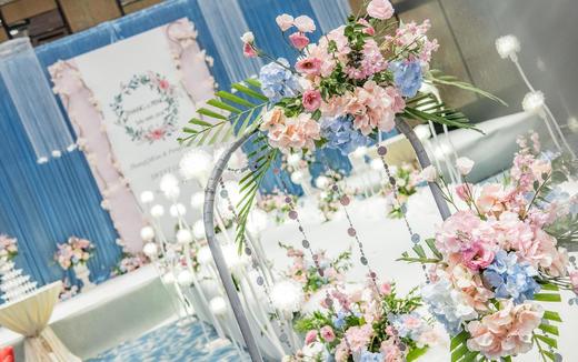 【千寻婚礼】粉蓝主题婚礼 粉蓝色浪漫婚礼