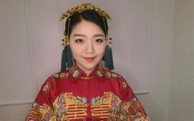 【爱尚新娘私享会馆】经典的中式新娘造型