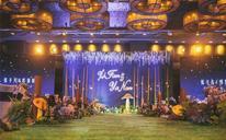 金色创意唯美婚庆——《星光森林》