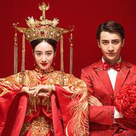 人气爆款|中式婚纱【中国红,工笔画】经典主题畅拍